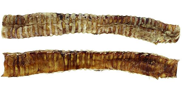 Bark 'N Big USA Beef Trachea Strips - 10-12 in.