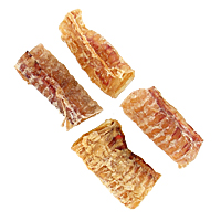 Bravo USA Beef Tracheas - 03.5 in., 4-Pack