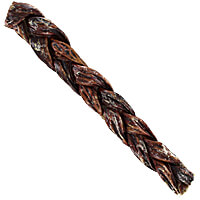 Natural Dog Company Braided Gullet Sticks - 12 in.