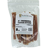 Natural Dog Company 6 in. Tremenda Tough Sticks - 8 oz. Bag