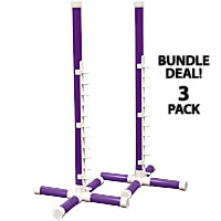Competition Agility Nonwinged Jump Kit - 1-1/4 in. PVC, 3-Pack