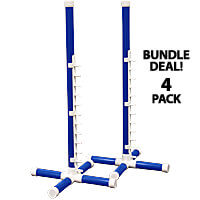 Competition Agility Nonwinged Jump Kit - 1 in. PVC, 4-Pack
