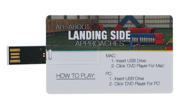 All About Landing Side Approaches - DVD on a Flash Drive