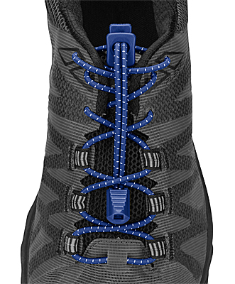 Nathan No-Tie Locking Run Laces - Surf