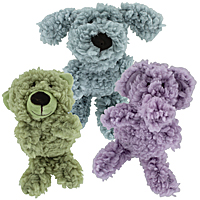 "AromaDog Calming Fleece Toys - 6"" Mini"