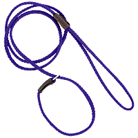 Mendota British-style Mini Slip Lead - Purple, 1/8in. x 54in.