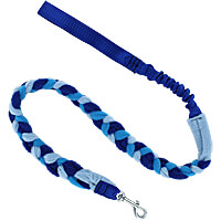 Bungee Fleece Tug Leash - Blue Skies