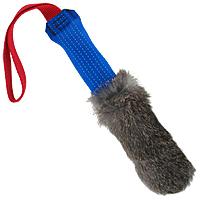 Bunny Fur Dynamite Tug Stick