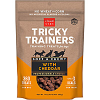 Cloud Star Tricky Trainers Soft & Chewy Treats - Cheddar, 14 oz.