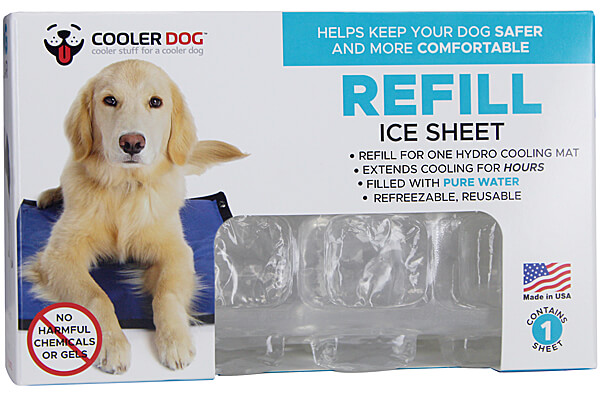 Cooler Dog Refill Ice Sheet for Hydro Cooling Mat