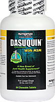 Dasuquin with MSM Chewable Tablets for Large Dogs - 84 Count