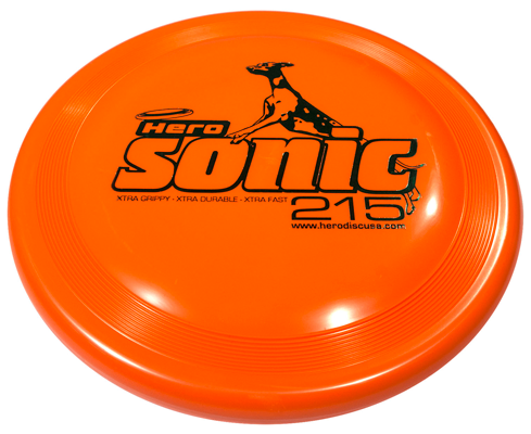 Hero Sonic Xtra 215 Disc - Distance Series, 8.5 in.