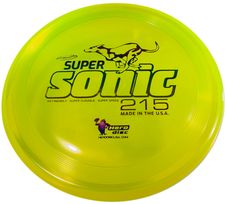 Hero SuperSonic 215 Disc - K9 Kandy, 8.5 in.