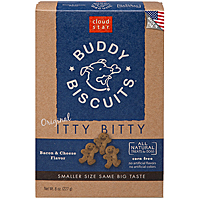 Cloud Star Itty Bitty Buddy Biscuits—Bacon & Cheese