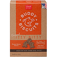 Cloud Star Itty Bitty Buddy Biscuits - Peanut Butter