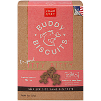 Cloud Star Itty Bitty Buddy Biscuits—Sweet Potato