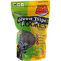 K-9 Kraving Dog Cookies - Green Tripe, 8 oz.