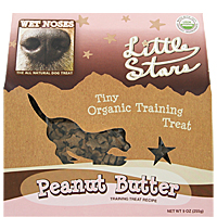 Little Stars Tiny Organic Training Treats - Peanut Butter, 9 oz.