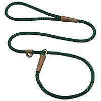 Mendota British-style Slip Lead - Hunter, 3/8in. x 6 ft.