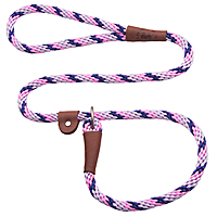 Mendota British-style Slip Leads - Lilac, 6 ft.