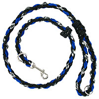 Slip or Clip Agility Leads - Ghost Blue
