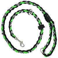 Slip or Clip Agility Leads - Ghost Lime