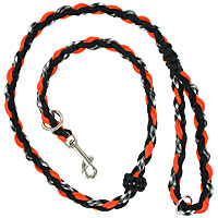 Slip or Clip Agility Leads - Ghost Orange