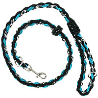 Slip or Clip Agility Leads - Ghost Aqua