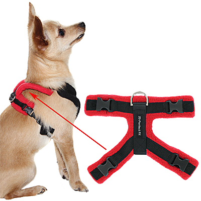 Perfect Fit Modular Fleece-Lined Dog Harness: Part 3 - Top Piece