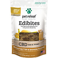 Pet Releaf Original Hemp Oil Edibites - Peanut Butter & Banana