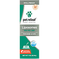 Pet Releaf Liposomes - 100mg Active CBD