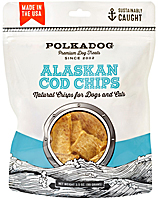 Polka Dog Alaskan Cod Chips, 3.5 oz.
