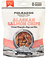 Polka Dog Alaskan Salmon Chips, 4 oz.