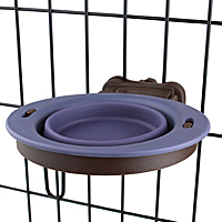 Popware Collapsible Kennel Bowls—Small