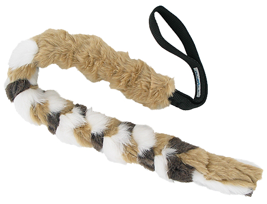 TugTastic Bungee Tug with Bunny Fur