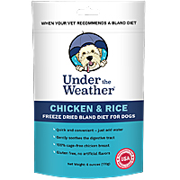 Under the Weather Freeze-Dried Bland Diet - Chicken & Rice