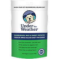 Under the Weather Freeze-Dried Bland Diet - Hamburger, Rice & Sweet Potato