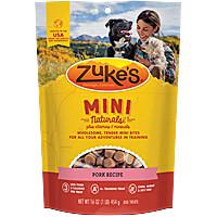 Zukes Mini Naturals - Pork, 1 lb.
