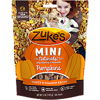Zukes Mini Naturals Pumpkins - Turkey & Pumpkin, 5 oz.