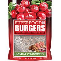 Bark & Harvest Burgers - Lamb & Cranberries, 6 oz.