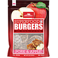 Bark & Harvest Burgers - Pork & Apple, 6 oz.