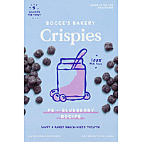 Bocces Crispies - PB + Blueberry, 10 oz.