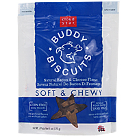 Cloud Star Buddy Biscuits Soft and Chewy Dog Treats - Bacon and Cheese, 6 oz.