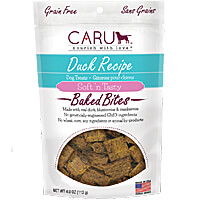Caru Soft N Tasty Bites - Duck, 4 oz.