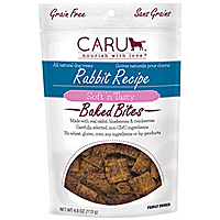 Caru Soft N Tasty Bites - Rabbit, 4 oz.