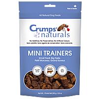 Crumps Naturals Mini Trainers - Beef, 4.2 oz.
