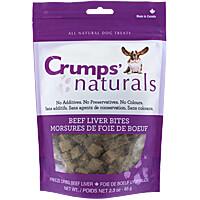 Crumps Naturals - Beef Liver Bites, 2.3 oz.