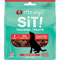 Etta Says Sit! Training Treats - Pork & Bacon, 6 oz.