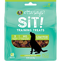 Etta Says Sit! Training Treats - Cheddar Cheese, 6 oz.