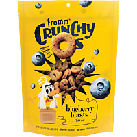 Fromm Crunchy O's - Blueberry Blasts, 6 oz.